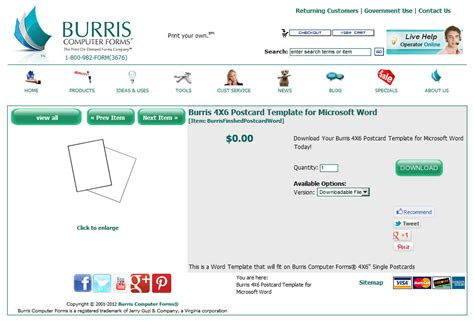 microsoft word 4x6 postcard template how to create and print your own photo postcards burris