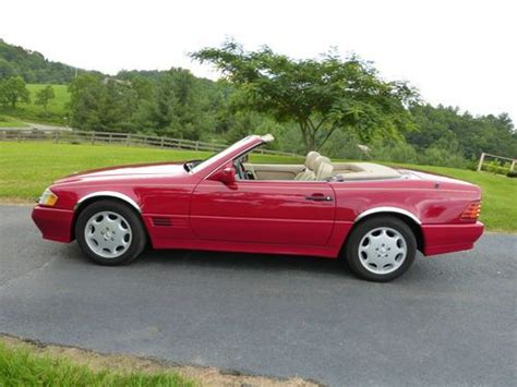 auto body repair training 1995 mercedes benz sl class electronic throttle control purchase used 1995 mercedes benz sl500 roadster convertible exceptional condition in fries