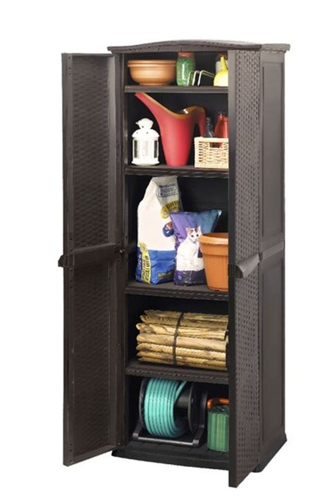 keter rattan style utility cabinet 335 00 landera