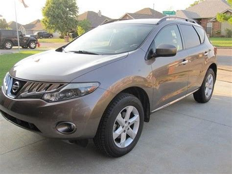 automobile air conditioning repair 2009 nissan murano seat position control buy used 2009 nissan murano sl sport utility 4 door 3 5l in oklahoma city oklahoma united states