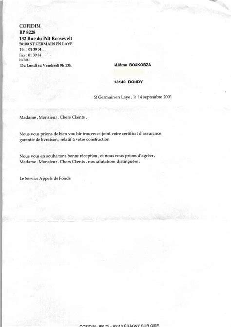 Sample Cover Letter: Exemple De Lettre Garant Location