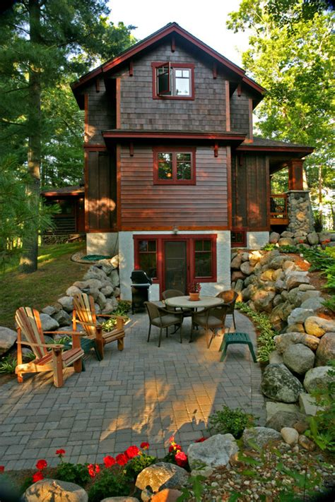 rustic lake house decorating ideas with wooden wall and is this natural wood siding or an engineered product what