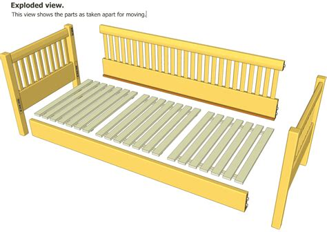 wood build a daybed pdf plans daybed plans