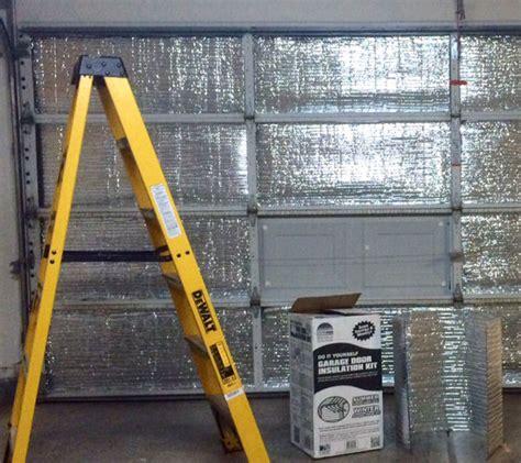 Insulated Or Uninsulated Garage Doors by Garage Door Insulation Is Easy To Install Politics