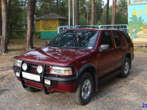 Opel Frontera A 1996 Opel Frontera Pictures