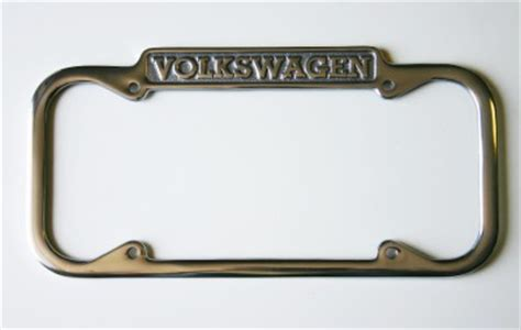volkswagen vw license plate frame california 1940 1945