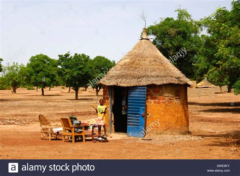 Thatched Hut Hut With Thatched Roof And Interior