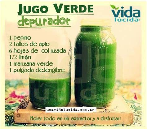 Jugo Verde Detox Ingredientes by Jugo Verde Depurador Http Www Lavidalucida 2012 09