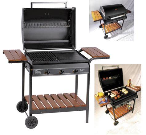 Barbecue Grill Et Plancha Gaz by Cuisine Exterieure Barbecue Gaz Jardindeco