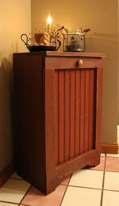 1000  images about Primitive trash can storage on