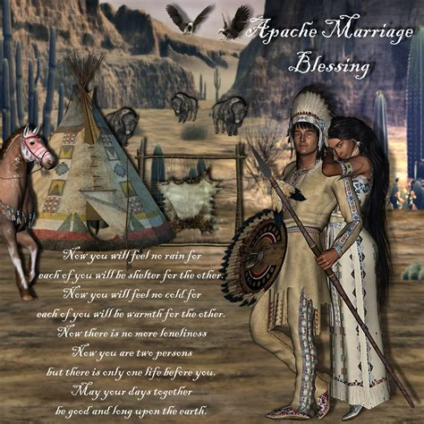 Apache Wedding Blessing by Wedding Blessing Great Gift From The Minister Become An