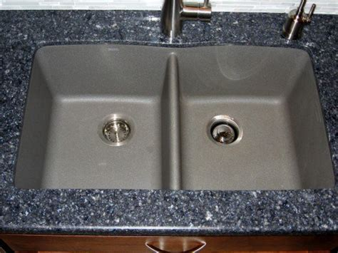 grey kitchen sink long term review of the silgranit ii granite composite