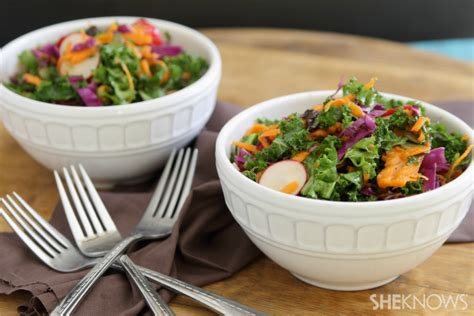 Carrot And Cabbage Detox Salad by Detox Kale Salad