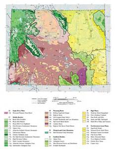 ecoregions map ecosystem and right of way management ecosystems