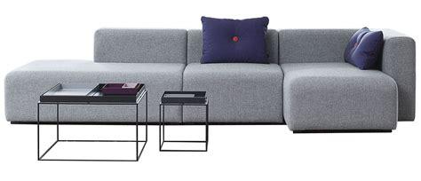 hay mags sofa mags corner sofa l 302 cm right armrest light grey