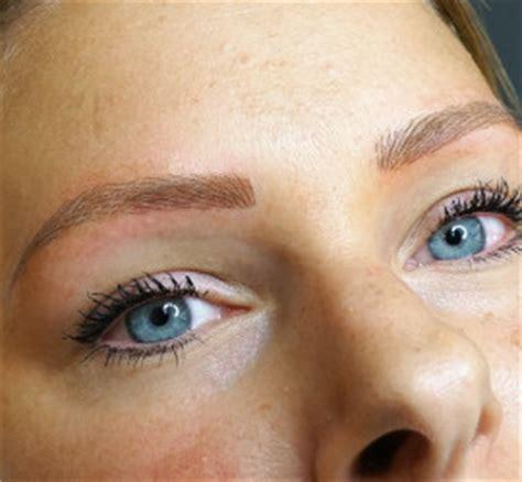 permanente make up voor de wenkbrauwen altijd goed in vorm