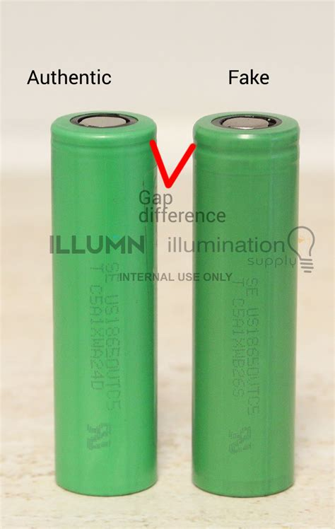 authentic sony vtc 5 by vapeyuks how to distinguish authentic and sony vtc5 battery