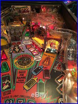 elvira and the monsters pinball machine elvira and the monsters pinball arcade machine bally