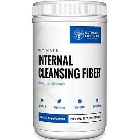 Fiber Care Fiber Cleanse 2 Day Detox by Ultimate Digestive Health 30 Day System Ultimate Lifespan