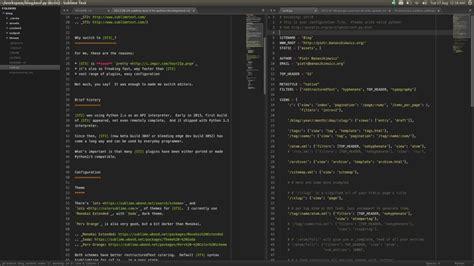 sublime text 3 themes ubuntu ν sublime 3 python django ide python ű