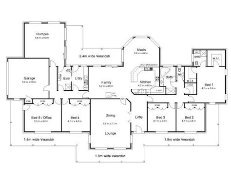 australian home design styles ranch style house plans australia beautiful the bourke