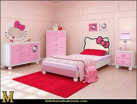 hello kitty bedroom ideas decorating theme bedrooms maries manor hello kitty