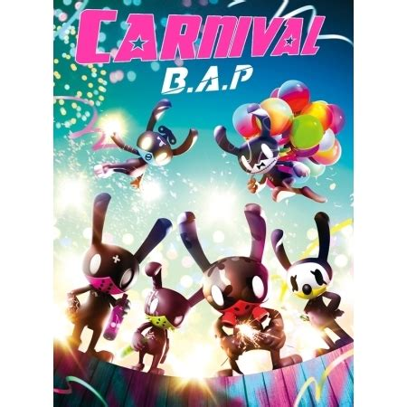 special version b a p bap 5th mini album carnival 60p photobook 1 random photocard release