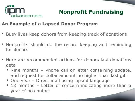 Fundraising Letters Lapsed Donors how to reactivate lapsed donors in nonprofit fundraising