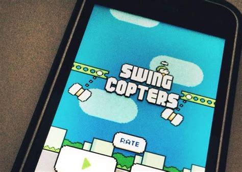 flappy bird swing copters swing copters el nuevo juego del creador de flappy bird
