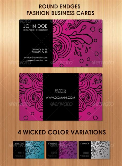 fashion design business cards templates free cardview net business card visit card design