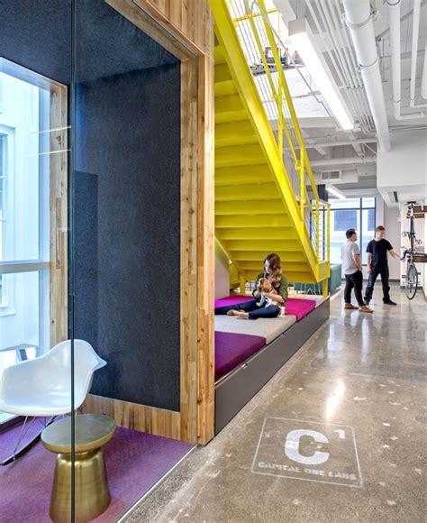 Vivid Office Space by Studio O A   InteriorZine