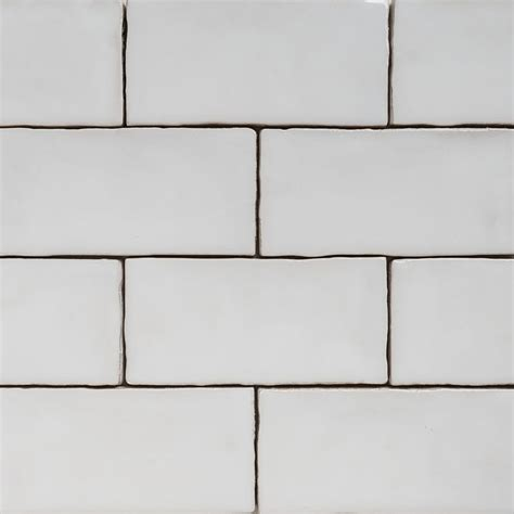 Handmade Subway Tiles - handmade natura white gloss subway tile 130 215 65 eco tile