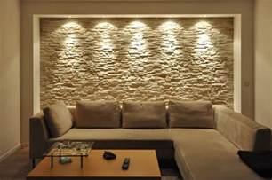 moderne wohnzimmer wandgestaltung wandgestaltung mit riemchen
