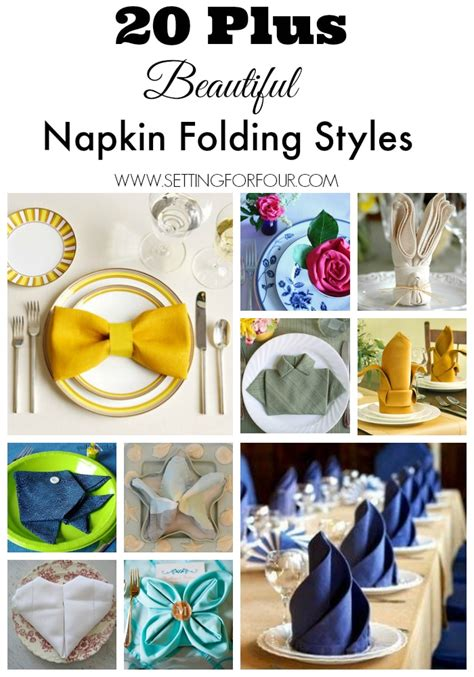 how to fold napkins fold napkin folding