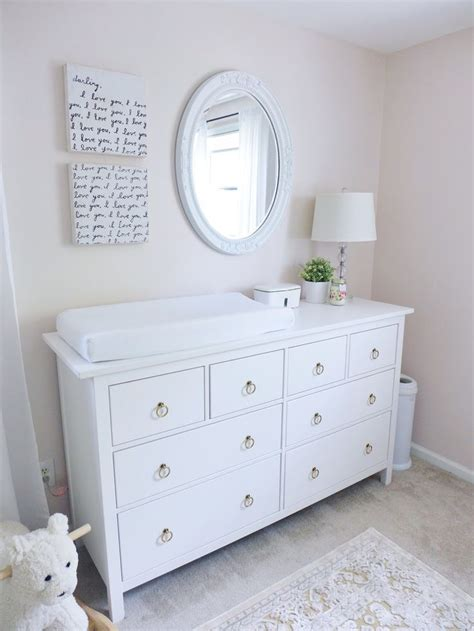 Dresser For Nursery by Best 25 Baby Dresser Ideas On Organizing Baby Dresser Nursery Dresser Organization