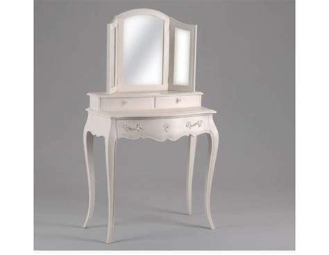 coiffeuse meuble avec miroir coiffeuse romantique galb 233 e avec miroir 3 volets