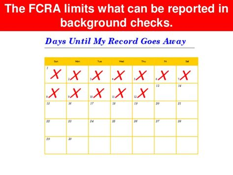 Fcra Background Check 7 Years A Brief Overview Of Laws Affecting Background Checks