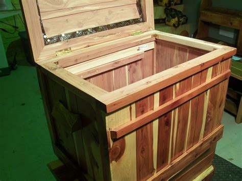 Handmade Cedar Chest - buy a crafted custom cedar chest made to order from