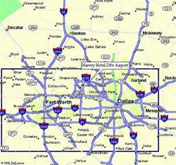 dallas airport map images