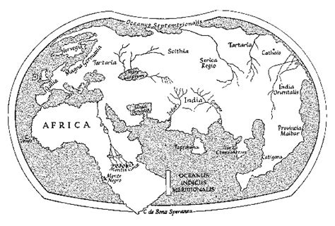 Laurentian Acceptance Letter 256 Title Martellus World Maps Date 1489 1490 Author Henricus Martellus Germanus