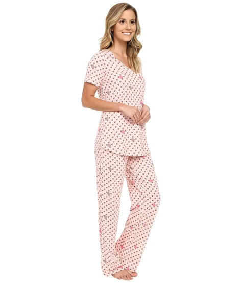 Rise Knit Twis Jalur Pj vera bradley knit pajama set zappos free shipping both ways