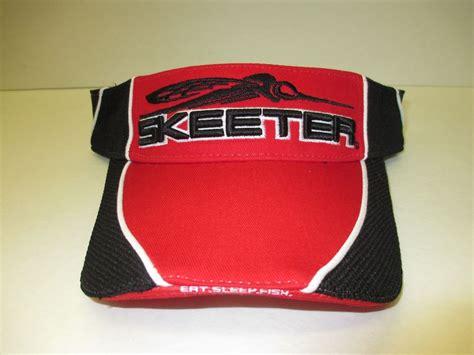 skeeter boats clothing new authentic skeeter red black visor skeeter boats