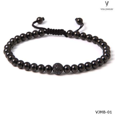 mens gold bead bracelet macrame mens gold stainless steel bracelets