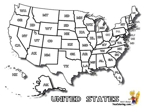 united states coloring page 18 best images about free usa states maps coloring pages