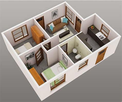 contoh denah rumah minimalis modern terbaru dirumahkucom