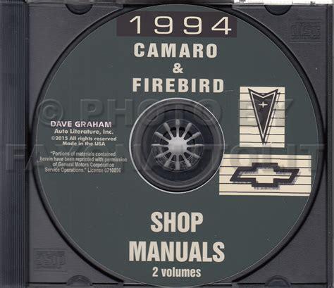 service and repair manuals 1997 chevrolet camaro spare search