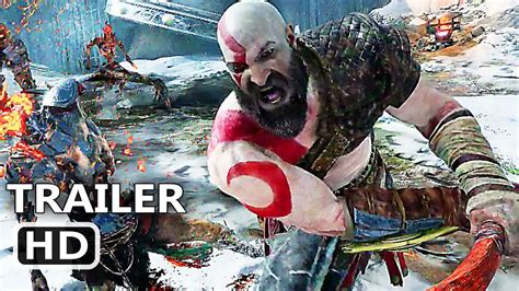 god of war film trailer deutsch god of war 4 official e3 trailer 2017 kratos gameplay hd