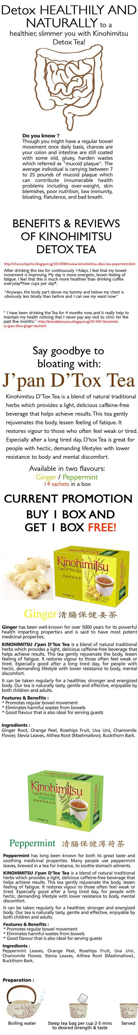 Kinohimitsu Detox Tea Price Malaysia by Buy Kinohimitsu Detox Tea 14s Buy 1 Free 1 Deals For Only