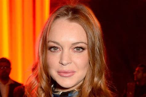 Lindsay Lohan Gets The Ok by Lindsay Lohan Goes Braless In Sheer Jumpsuit At The Asian