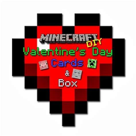 diy minecraft valentines diy minecraft cards visit www